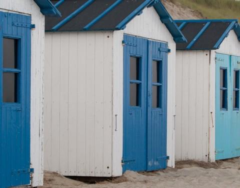 Strandhuisjes Texel